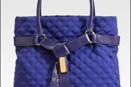 Marc Jacobs Quilted Jersey Tote