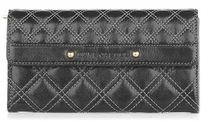 Marc Jacobs Quilted Leather Wallet