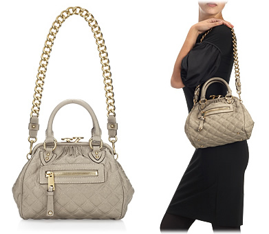 Marc Jacobs Quilted Little Stam Bag