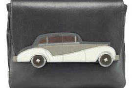 Marc Jacobs Rolls Royce Fold-Over Clutch