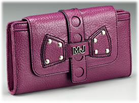 Marc Jacobs Beth Leather Flap Clutch