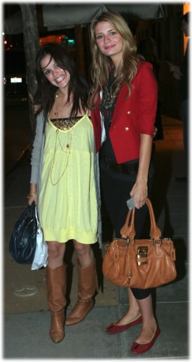 Mischa Barton & Rachel Bilson