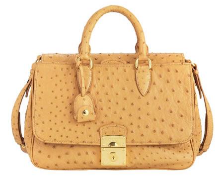 miu miu ostrich satchel
