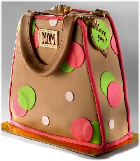 mothers day handbag cake