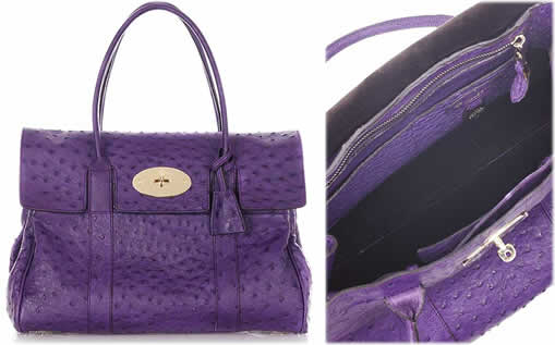 Mulberry Ostrich Bayswater Bag
