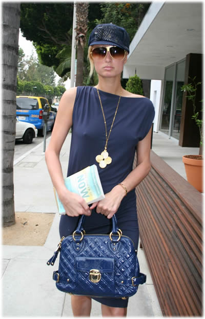 paris hilton marc jacobs bag