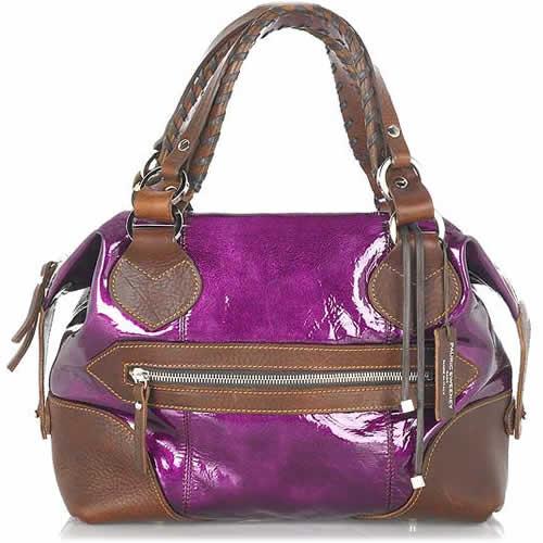 Pauric Sweeney Patent Shoulder Bag