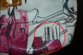 Prada Fairy Bag Bleeds