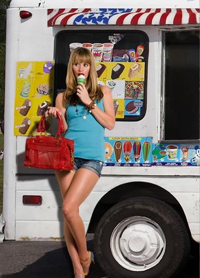 rebecca minkoff summer campaign 2008