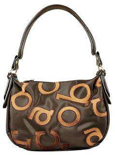 Roccobarocco Signature Medium Hobo Bag