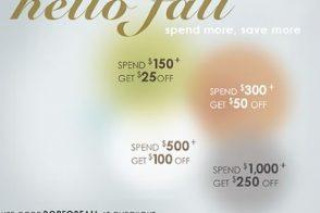 """Shop Bop """"Hello Fall"""" Sale!"""
