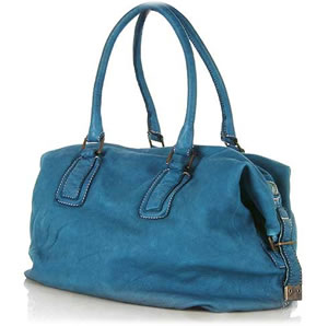 Sissi Rossi Washed Leather Tote