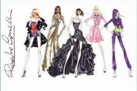 Costumes for the Spice Girls Tour