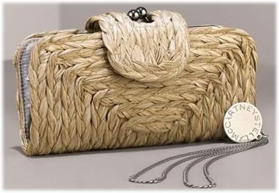 Stella McCartney Sea Grass Clutch