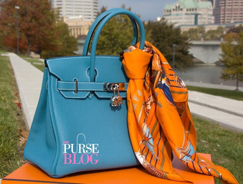 hermes bag price - 30 cm Togo Blue Jean Hermes Birkin - PurseBlog