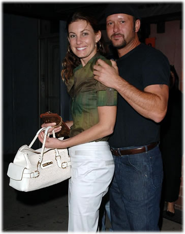 Tim McGraw and Faith Hill Name Bag