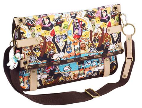 Tokidoki for LeSportsac Ciao Ciao Large Flap Bag