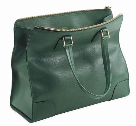 Valextra Babila Bag green