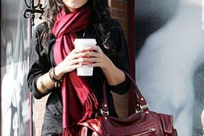 Vanessa Hudgens Style: Rebecca Minkoff Matinee Bag