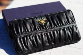 Valetine's Giveaway #2: Prada Nappa Gauffre'a Pouch