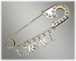 Versace Safety Pin