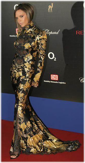 Victoria Beckham Roberto Cavalli Dress