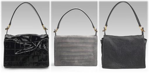 Yves Saint Laurent Catwalk Bags