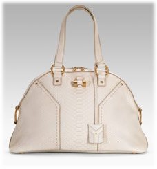 yves st laraunt - Yves Saint Laurent Large Python Muse Handbag - PurseBlog