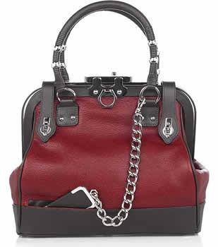 Zac Posen Aurora Leather Handbag