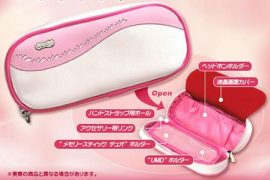 Pink Sakura Sony PSP Poach
