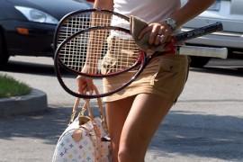 Anna Kournikova does Louis Vuitton