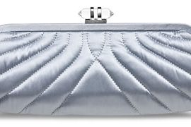 Banana Republic Quilted Satin Clutch