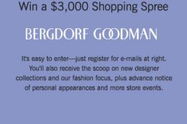 Win a $3,000 shopping spree