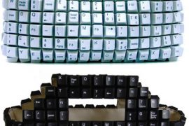 Keyboard Key Purse