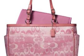 Coach Optic Signature Baby Bag & Coach Baby Accessories