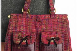 Gap Tweed Tote