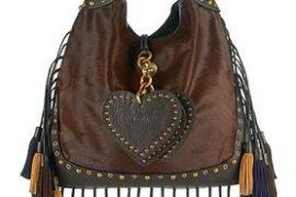 Luella Fringed Tassel Shoulder Bag