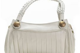 T-Bags Small Shoulder Bag in White
