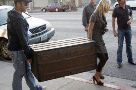 Jessica Simpson's Louis Vuitton Crate