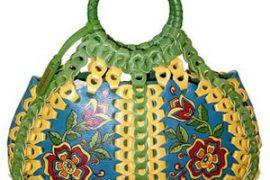 "Isabella Fiore ""Flower Child"" April Handheld Bag"