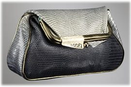 Fendi Karung Borderline Clutch