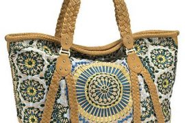 Cole Haan Large Carryall Sierra Embroidery Collection