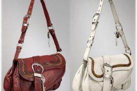 Dior Gaucho Large Double Saddle Bag