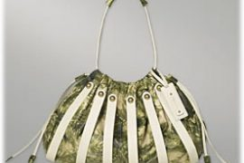 Botkier Skeleton Big Drawstring Bag