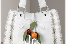 Dolce & Gabbana Leather Charm Bag