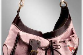 Paul Smith Regent Mangrove Crescent Medium Hobo