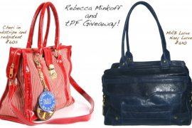 Rebecca Minkoff and tPF Giveaway!