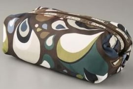 LeSportsac Peacock Val Cosmetic Bag