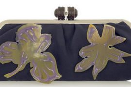 Marni Flower Appliqué Clutch