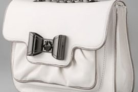 Betsey Johnson Bow Lock Flap Clutch